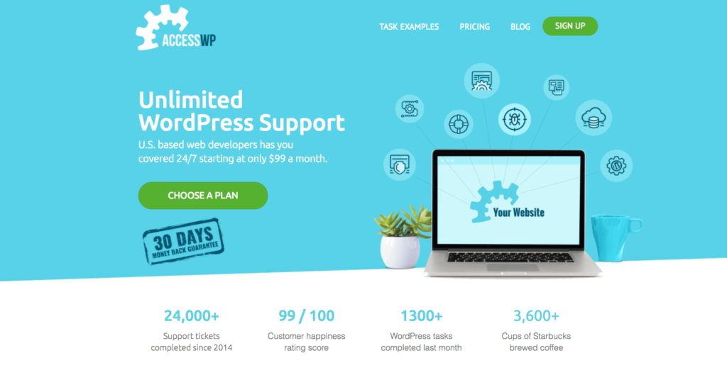 AccessWP Unlimited WordPress Support
