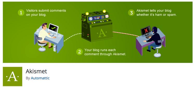 Best WordPress Plugins - Akismet