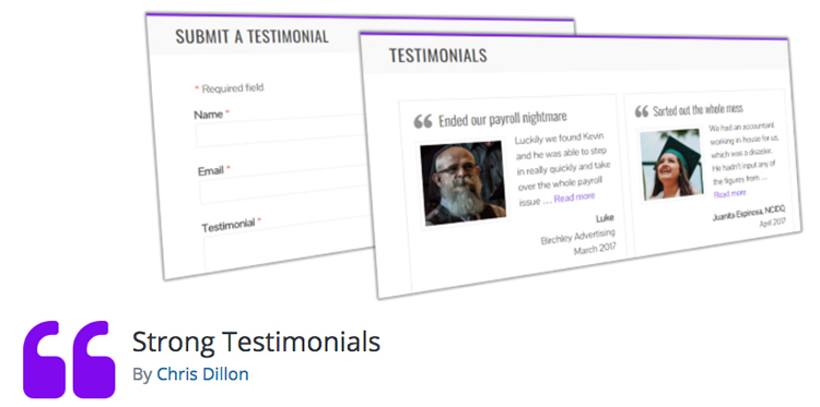 Best WordPress Plugins - Strong Testimonials