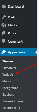 Add custom HTML widget